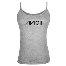 Summer Style Music Dj Avicii Women Tank Tops Shirt Bodybuilding Fitness Vest singlet Clothes