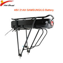 EU US NO TAX Electric Bike Battery 48V 21AH E-Bike Lithium Bicycle Battery Samsung LG Cell Rear Rack Battery Bicicleta Eletrica(China)