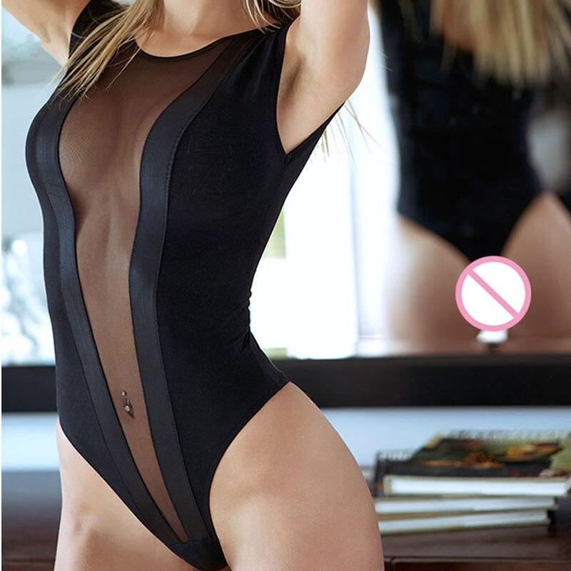 Summer Bikini Hot Babydoll Sexy Lingerie Lace Perspective Sexy Costumes Satin Underwear Open Bra Erotic For Women/Ladies/ Beach