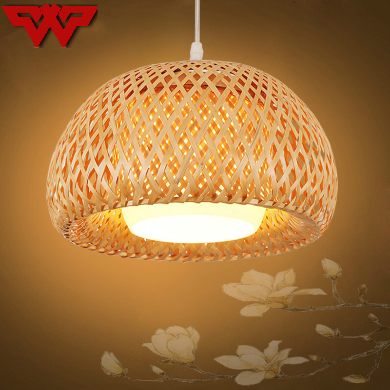Bamboo Craft Pendant Lantern Lanterns Southeast Asian Restaurant Aisle Chandelier Living Room Tea Room Japanese Bamboo Light [buy 3 to send 1] order wood hall bamboo tea laoshan stone bamboo leaves shi zhucha light bamboo tea flowers and tea