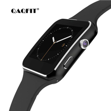 QAQFIT X6 Bluetooth Smart Watch Sport Passometer Smartwatch With Camera Support SIM Card Whatsapp Facebook for Android Phone