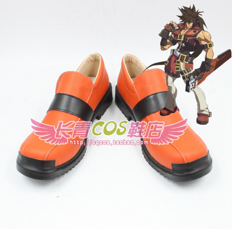 GGXX GGXRD Guilty Gear Sol Badguy cosplay Shoes Boots Custom Made 3805