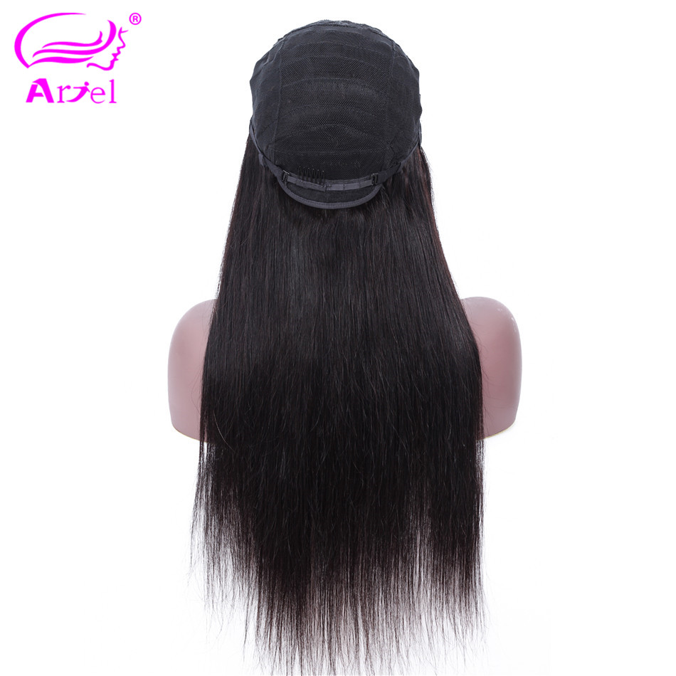 Straight Lace Front Wig 13  4 Lace Front Human Hair Wigs Baby Hair Indian Non Remy Glueless Lace Wigs Brown Lace Wig Human Hair-in Human Hair Lace Wigs from Hair Extensions & Wigs    3