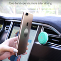 FLOVEME Universal Magnetic Car Phone Holder ABS Silicon Hybrid Mini Air Vent Mount GPS Stand For iPhone Samsung Xiaomi Huawei
