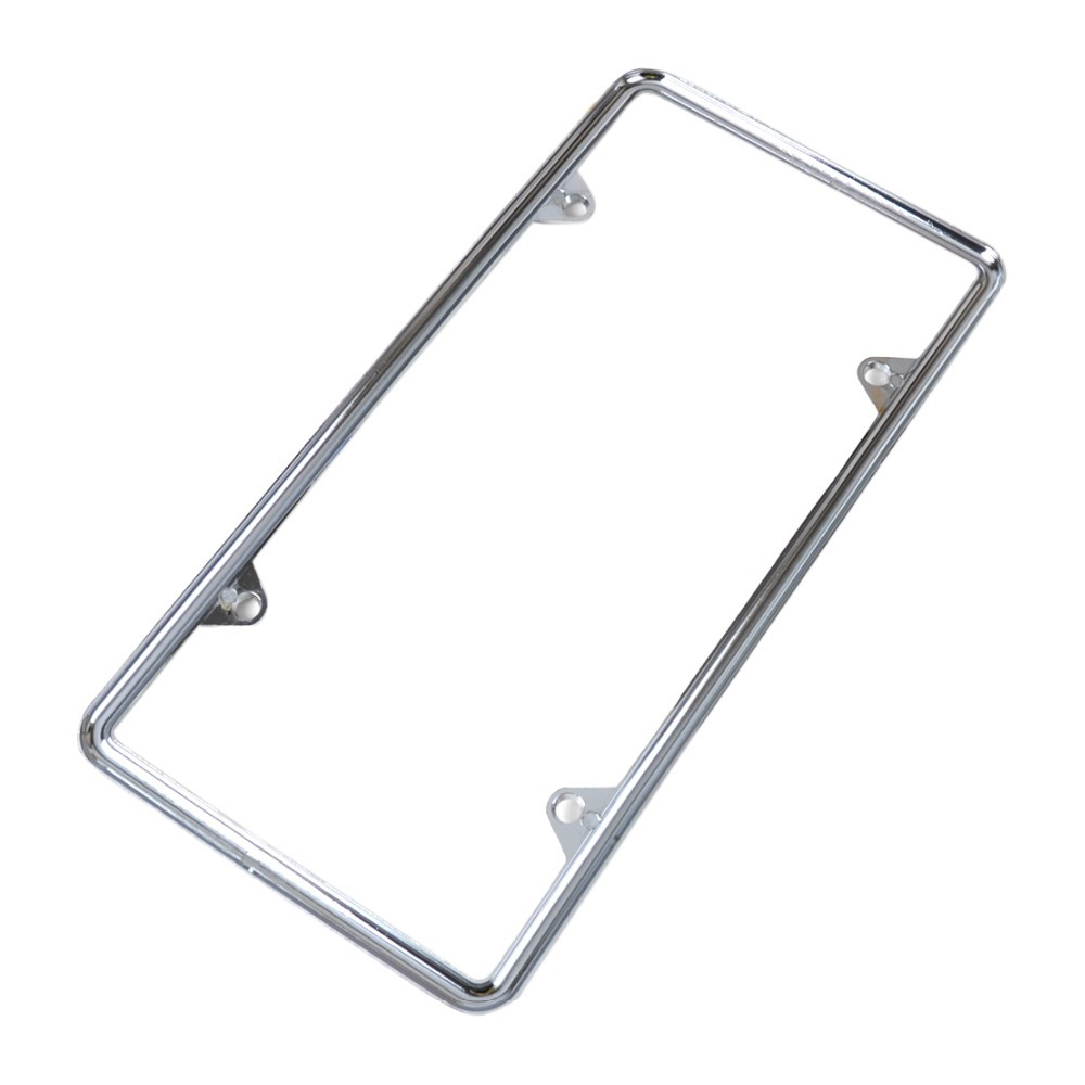 new zinc alloy license plate frame universal for audi q5 bmw f10 vw golf kia soul