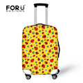 Designer Travel Suitcase Cover Elastic Ladybug Printing Luggage Protective Dust Cover to 18-30inch Case Waterproof Baggage Cover