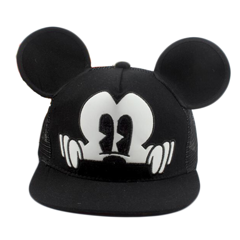 12-24 Months 50 Cm White Humor Mickey Mouse Baby Boys Hat
