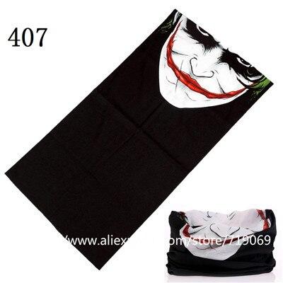401-420skull Stil Outdoor Vielseitigkeit Bandana Uv Schutz Rohr Schal Nahtlose Turban Stirnband Hijab Ski Bandana Headwear Maske