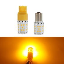 2x Car LED Turn Signal 1156 P21W BA15S PY21W T25 3156 T20 7440 LED Bulbs 3030 35SMD Auto Tail Lights Turn Lamp Canbus Error Free 2x car led 1156 p21w ba15s 1157 3156 3157 7440 7443 led bulbs turn signal brake light reverse lamp 1206 22 smd auto tail lights