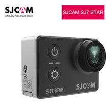 SJCAM SJ7 Star видеокамера 4 К 30fps Wi-Fi Беспроводные спортивные камеры HD 1080 P 30 м Водонепроницаемый Открытый Cam действия Объектив 2.0in сенсорный экран