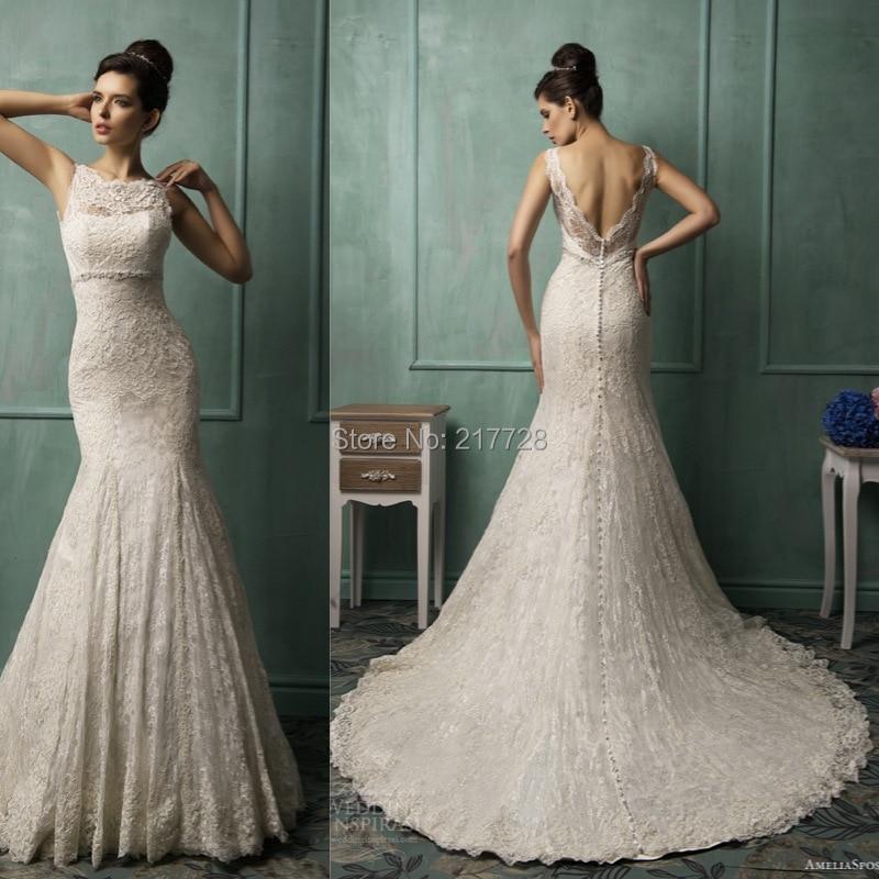 Sexy Elegant Lace Wedding Dress