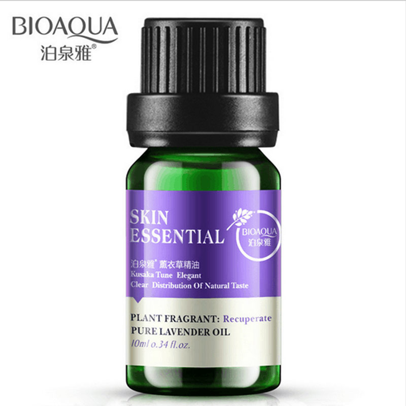 2017 Hot Sale Bioaqua Lavender Essential Oil Skin Care Hyaluronic Acid Liquid Anti Wrinkle Aging Oil-control Moisturizing 1