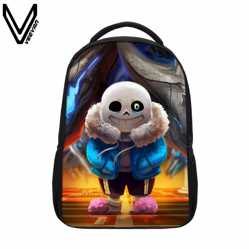 896e0d610f VEEVANV 2019 Undertale Printing Backpack Boy Girls School Bags Sans And  Papyrus School Backpacks Undertale Children Bookbag Gift. Price