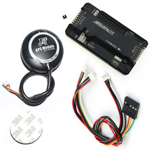 FEICHAO APM2.6 APM 2.8 Multicopter Flight Controller Kit Built-in Compass with 6M GPS Connect Cable for FPV RC Drone Aircraft