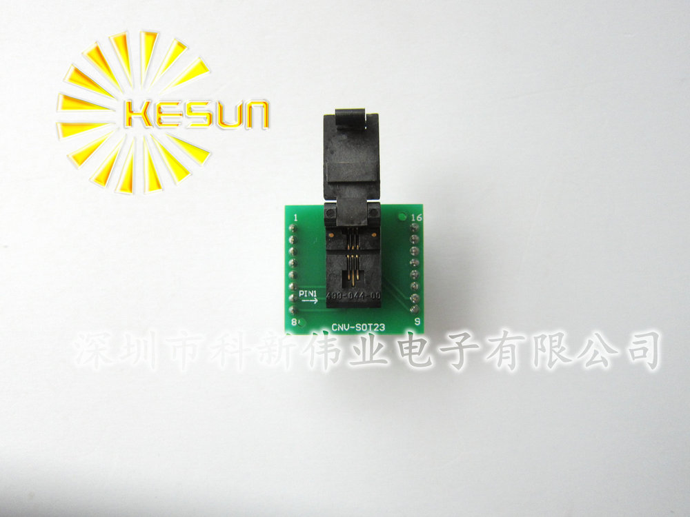 100% NEW SOT23 SOT23-6 SOT23-6L IC Test Socket / Programmer Adapter / Burn-in Socket ld7537 sot23 6