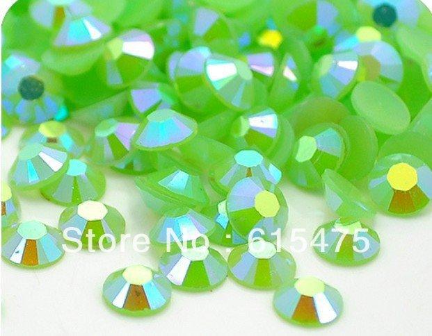 2mm Jelly Green AB Color SS6 crystal Resin rhinestones flatback,Free Shipping 100,000pcs/bag часы nixon corporal ss matte black industrial green