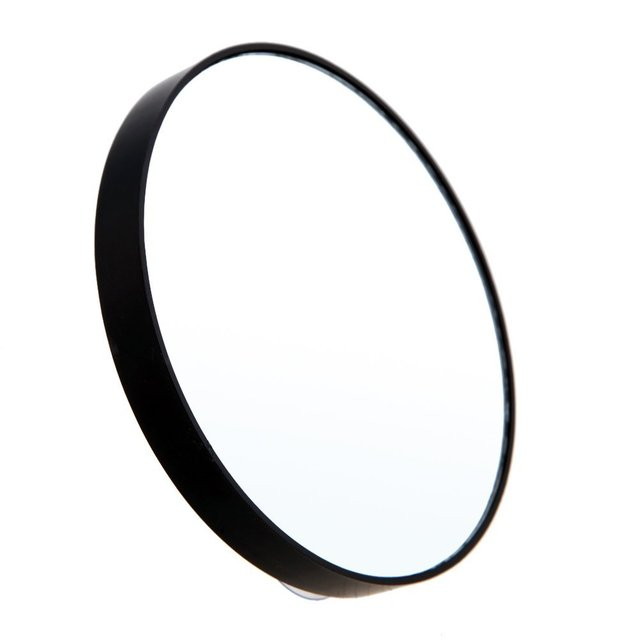 Free Shipping Makeup Mirror 10x Magnifying With Two Suction Cups Cosmetics Tools Round Ten