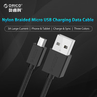ORICO Colorful Micro USB Data Fast Charging Cable,1.0 Meter Charger Sync Cable Support Max 2A for Xiaomi Samsung Huawei HTC LG