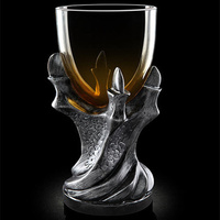 Rights of game 3 d African cup resin glass goblet personality whimsy skeleton beer stein
