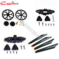 Free shipping Wholesale Main Blade Grip Set, Bottom fan clip, Main Rotor Blade 2A + 2B, Main gear Parts for DH 9053 Helicopter