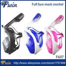 New Underwater Diving Mask Snorkel Set font b Swimming b font Gopro Camera Anti Fog Full