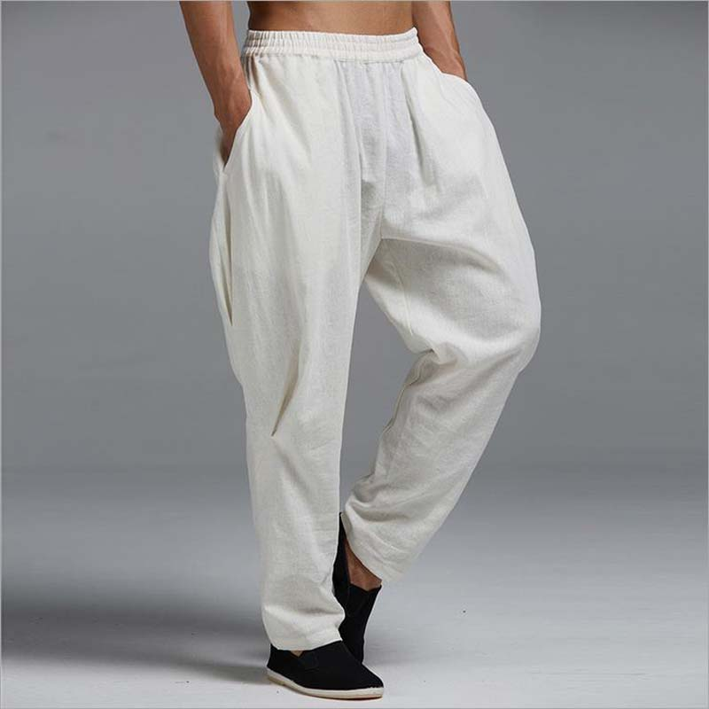 Popular Linen Pants for Men-Buy Cheap Linen Pants for Men lots ...