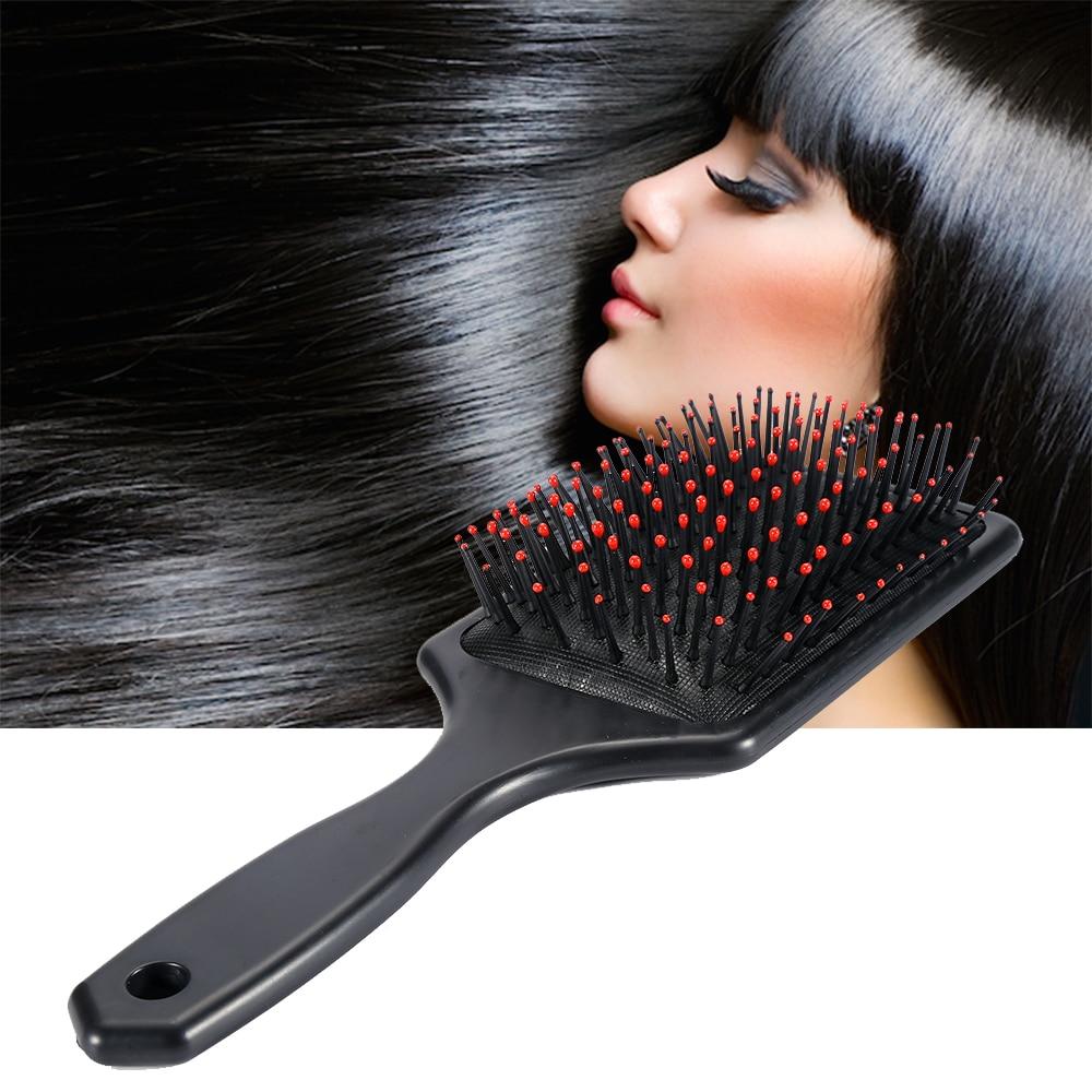 Hair Scalp Massage Comb Hairbrush Paddle Cushion Women Wet Curly Detangle Hair Brush for Salon Hairdressing Styling Tools