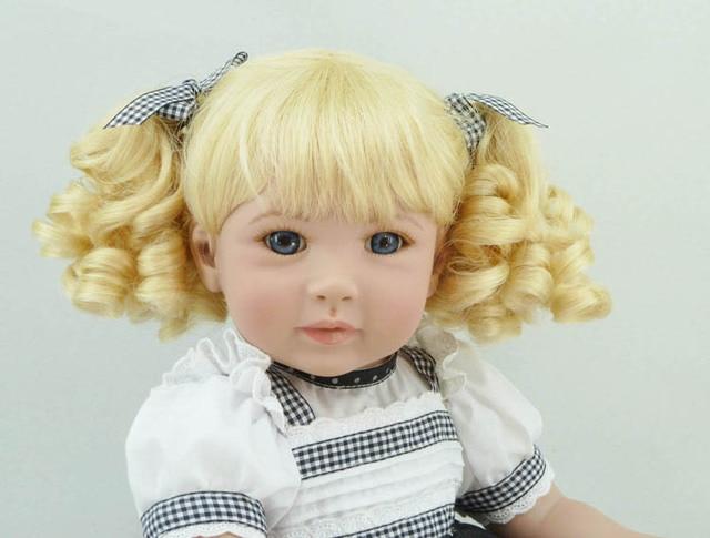 Silicone Vinyl Reborn Baby Doll Girl Brinquedos Lifelike accompany Sleeping princess babyies Toy for Birthday Christmas