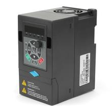 цена на 220V 1.5KW 1 Input 3 Phase Output Universal VFD Variable Frequency Drive Converter Inverter  Frequency Converter