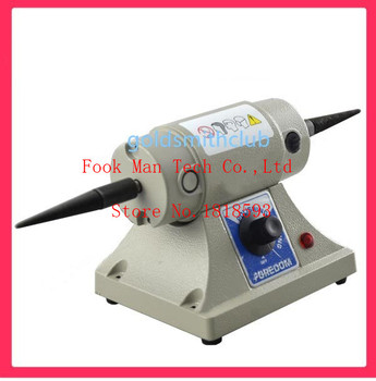 Motor,Adjustable speed grinding & polishing machine included two Buffing Wheel,Jewelry Making Supplies Polishing Motor