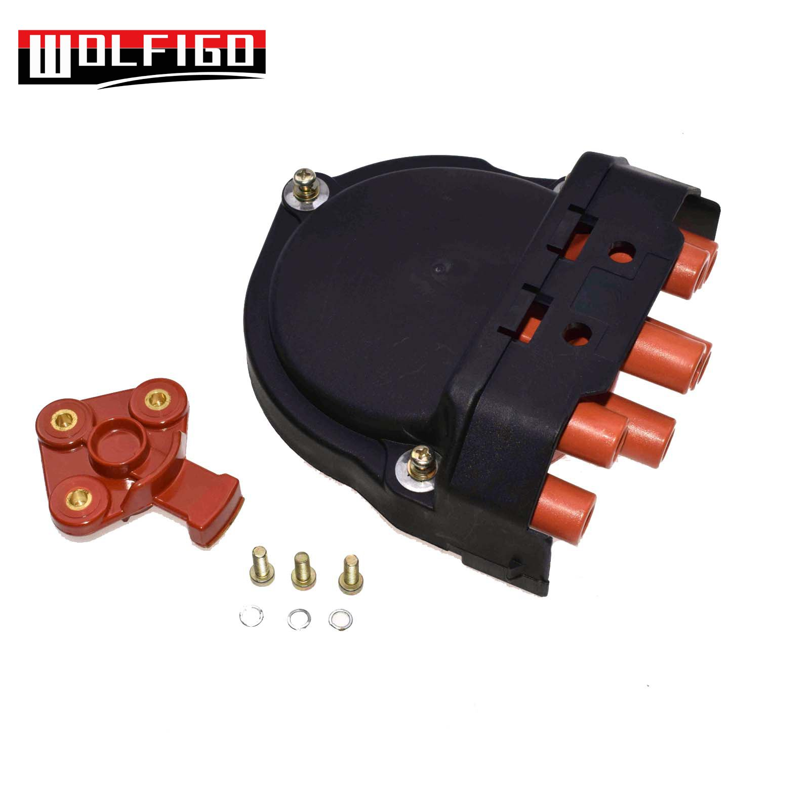 WOLFIGO NEW Distributor Cap Rotor For BMW E23 E24 E28 E30 E31 E32 E34 12111725070,12111734110,2 11 1 715 905, 12 11 1 734 110