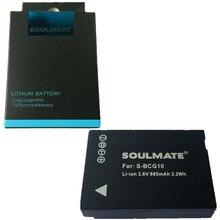 DMW-BCG10 BCG10 BP-DC7 Digital Camera Battery BPDC7 for Panasonic Lumix DMC-ZS19 DMC-ZX1 DMC-ZX3 DMC-TZ6 DMC-TZ7 TZ8 TZ10 TZ18 T