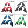 Доска для серфинга FCS2 G5 + GL плавники черный/синий/красный/зеленый цвет соты стекловолокна fin Tri-quad fin Набор