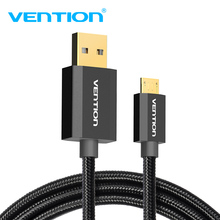 Vention Micro USB to USB Cable Fast Charger Cable 1m 2m for Android Phone Samsung Huawei USB Charger Data Cable For Xiaomi Micro