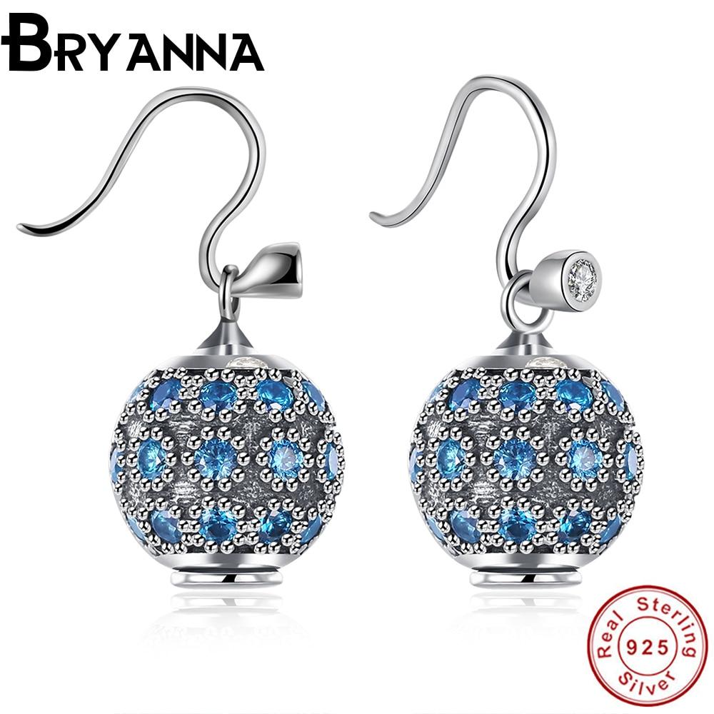 Bryanna Imitated Crystal drop Earrings font b Women b font Wedding For Teen Girls Bridal Party