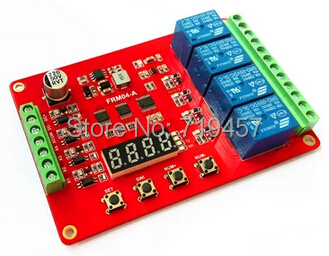 FREE SHIPPING FRM04 / Four Multi Function Relay Module / Delay / Lock / Cycle / Time / Time Relay