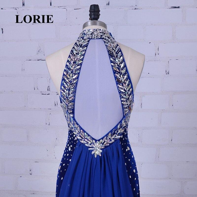 Lorie Vestidos de Noche de lujo alta Masajeadores de cuello con ...