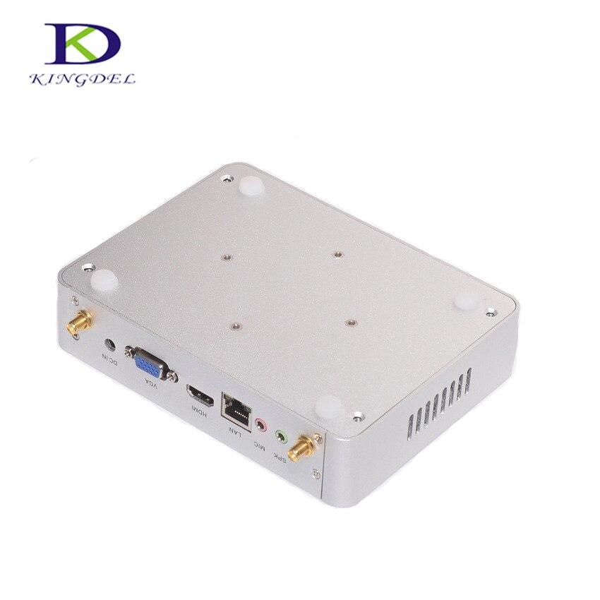 Цена со скидкой безвентиляторный Мини-ПК с NUC Intel Core i3 4005u Мини рабочего Оконные рамы 10 HTPC 300 м USB2.0 3.0 WIFI HDMI HTPC VGA