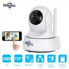 Мини HD Беспроводная Ip-камера Wi-Fi 720 P Smart Ик-Ночного Видения Видеонаблюдения Onvif Сеть ВИДЕОНАБЛЮДЕНИЯ Камеры Безопасности wi-fi hiseeu FMA