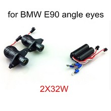 best price sale One pair 2X10W LED Marker Angel Eyes fit for BMW E90 E91 Auto Headlight Car Headlamp