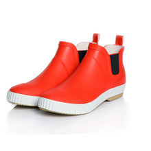 Male fashion trend of men's rain boots low cylinder lightweight waterproof rubber footwear spring SUB1230
