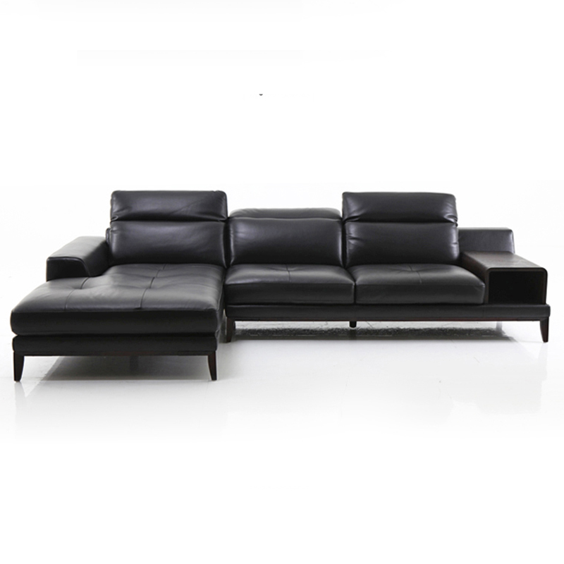 top cow real leather sofa sectional living room sofa corner home - Furniture - Photo 2