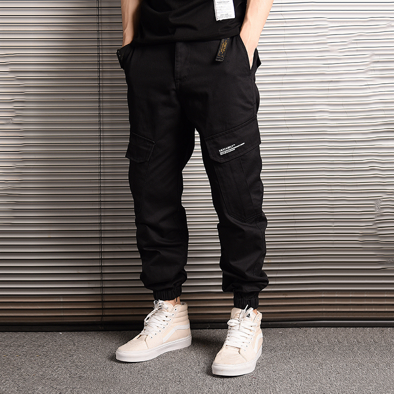 American Streetwear Fashion Men Jeans Camouflage Jogger Pants Men Big Pocket Cargo Pants Hombre Japanese Style Hip Hop Jeans Men
