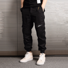 American Streetwear Fashion Men Jeans Camouflage Jogger Pants Big Pocket Cargo hombre Japanese Style Hip Hop