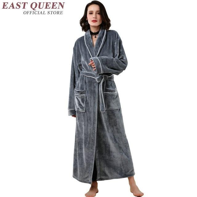 ladies 39 warm bathrobes bathrobes women robe autumn winter. Black Bedroom Furniture Sets. Home Design Ideas