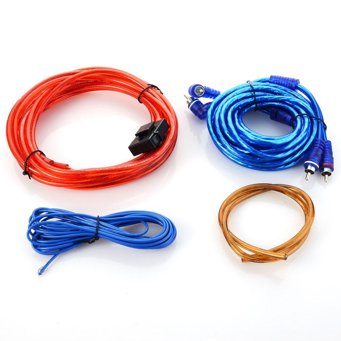 4 5m 8GA Car Audio Wire RCA font b Amplifier b font font b Subwoofer b