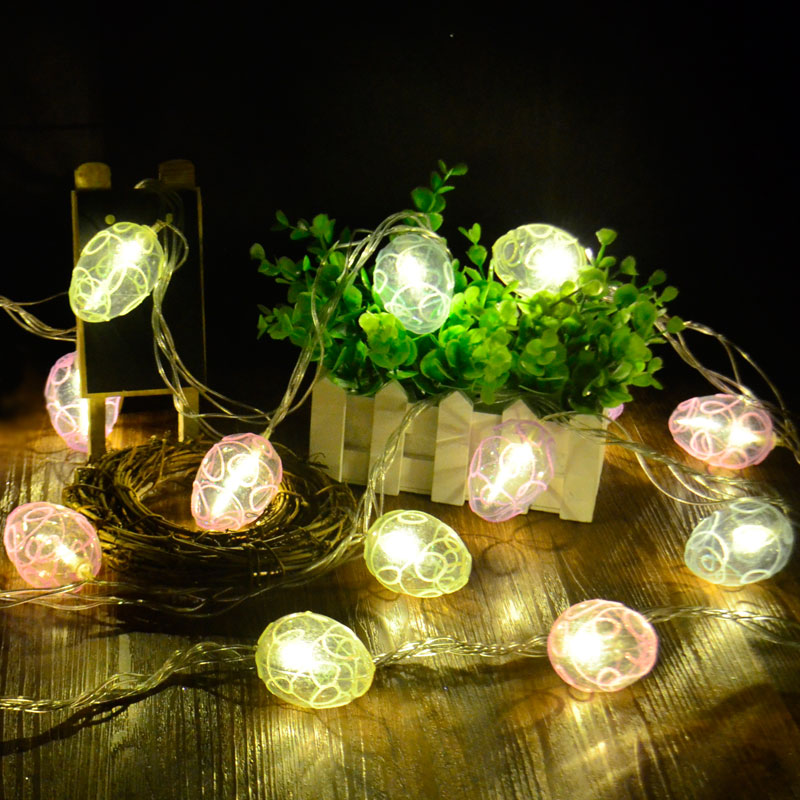 Outdoor Easter Lights 2018 rushed natal decorations christmas easter for egg led lights 2018 rushed natal decorations christmas easter for egg led lights string holiday light outdoor cooper wire party decoration in lighting strings from lights workwithnaturefo