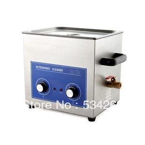 7L Stainless steel Ultrasonic Cleaner with Timer and Heater (including Washing Basket) 22l stainless steel ultrasonic cleaner with timer and heater including washing basket