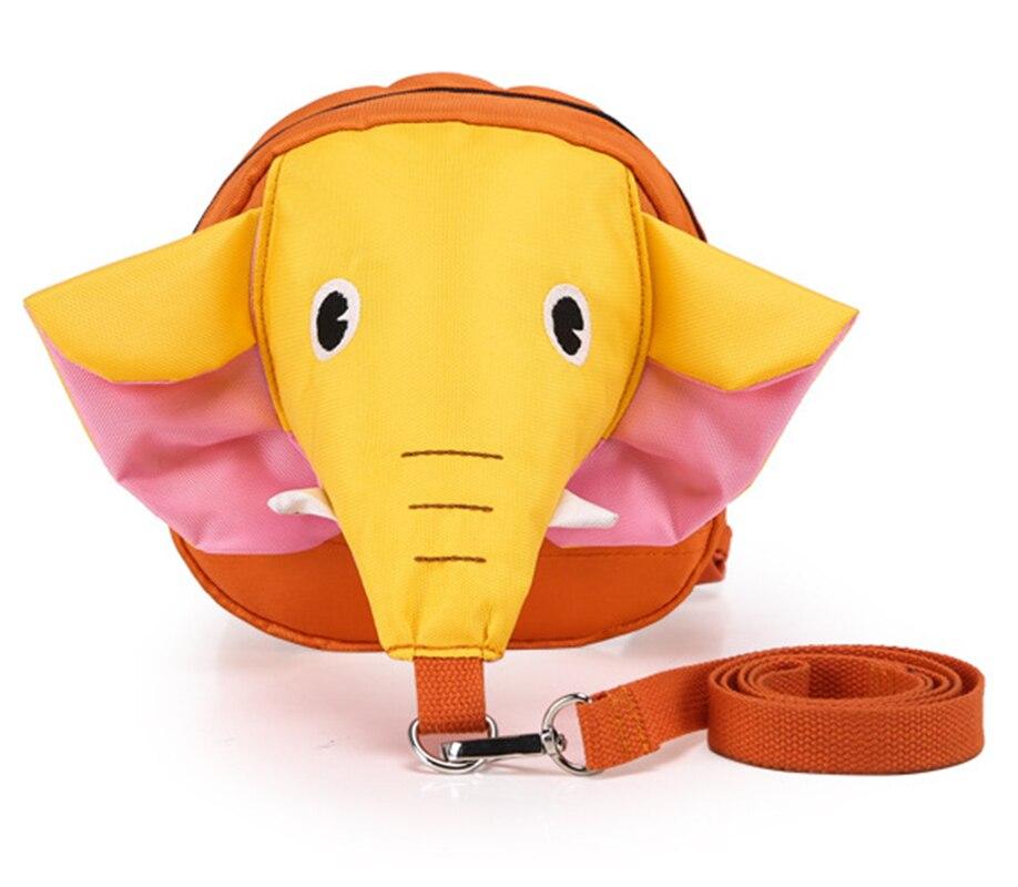 Elephant Anti Lost Backpack For 1-3 Years Kindergarten Toddler Aminals Cartoon School Children Backpack Mochila Escolar