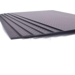Image 3 - 400mm X 200mm gerçek karbon Fiber plaka paneli levha 0.5mm 1mm 1.5mm 2mm 3mm 4mm mm 5mm kalınlığında kompozit sertlik malzemesi RC